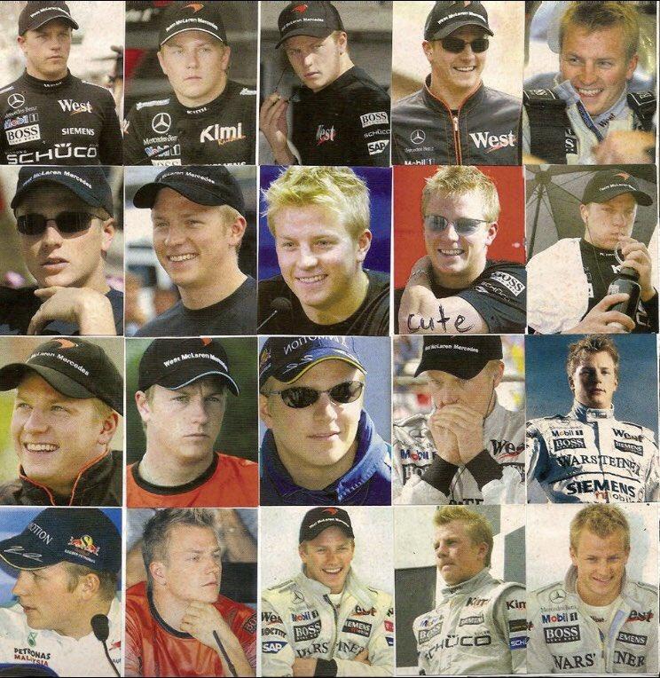 20代前半のキミ・スペシャル をどうぞ♡ #キミライコネン #キミ #ライコネン #マクラーレン #McLaren