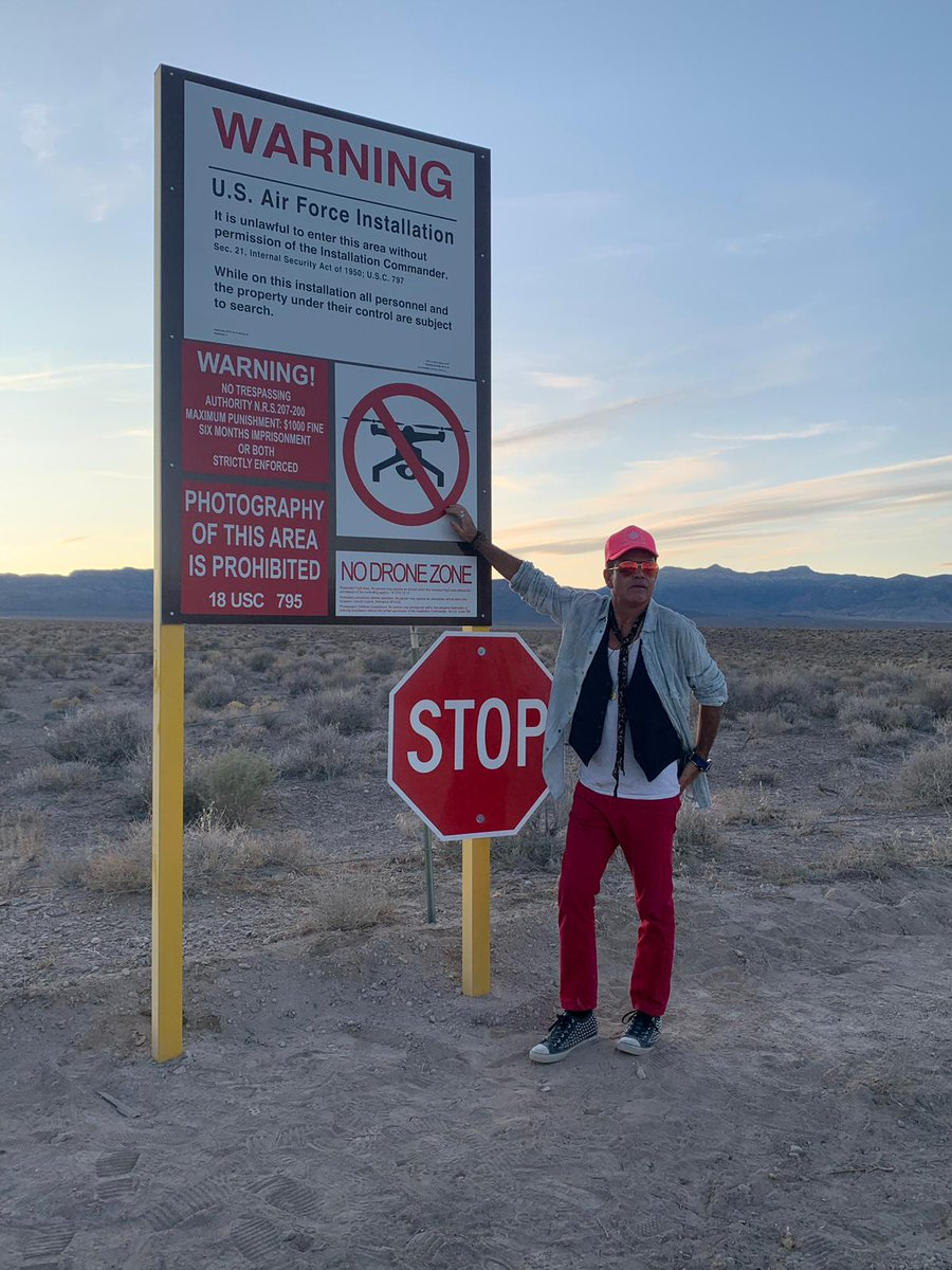 THE EAGLE HAS LANDED...  @pauloakenfold has made it to Area 51 and he's really earned his Alien Correspondent title.  We love you, Paul  #StormingArea51  #Area51storm  #LiveFromTheArea51Raid    https:// mixmag.net/feature/live-w hats-going-down-area-51-raid   … <br>http://pic.twitter.com/kyNJpyYykc