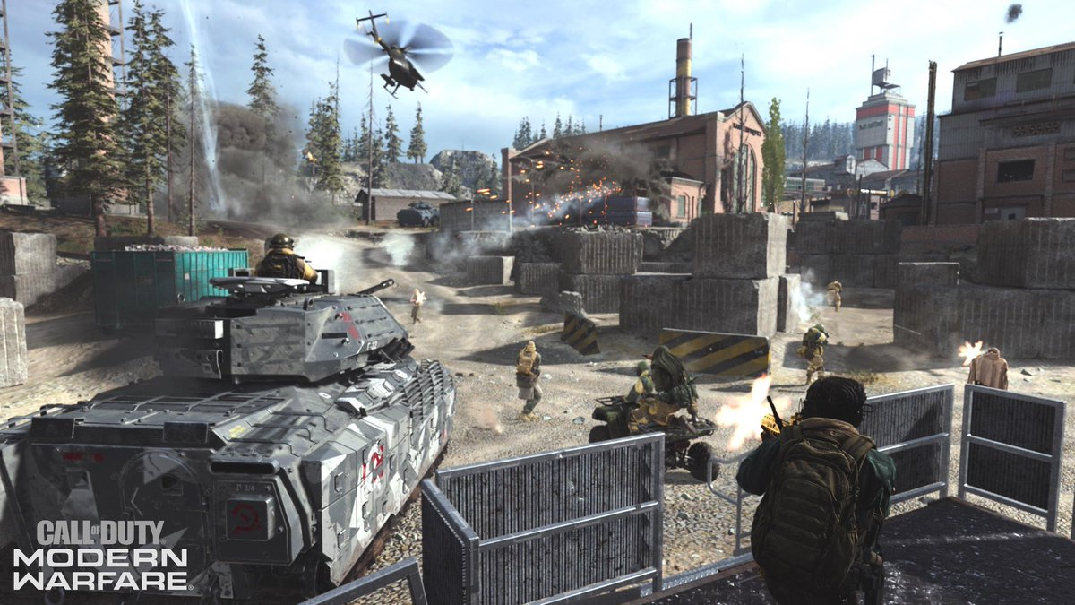 The #ModernWarfare  Beta on PS4, Xbox One, and PC has been updated to include the all new 32v32 Ground War mode!  <br>http://pic.twitter.com/NDcprLlkDq