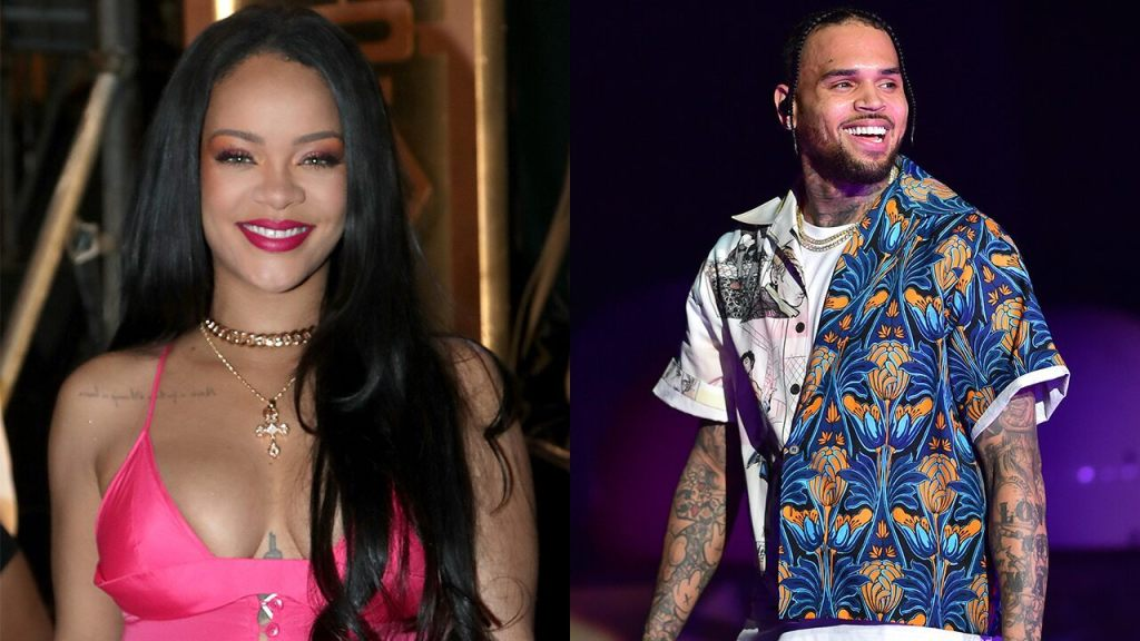 Chris Brown thirsts over Rihannas Instagram photo -- and her fans are furious - Top Tweets Photo