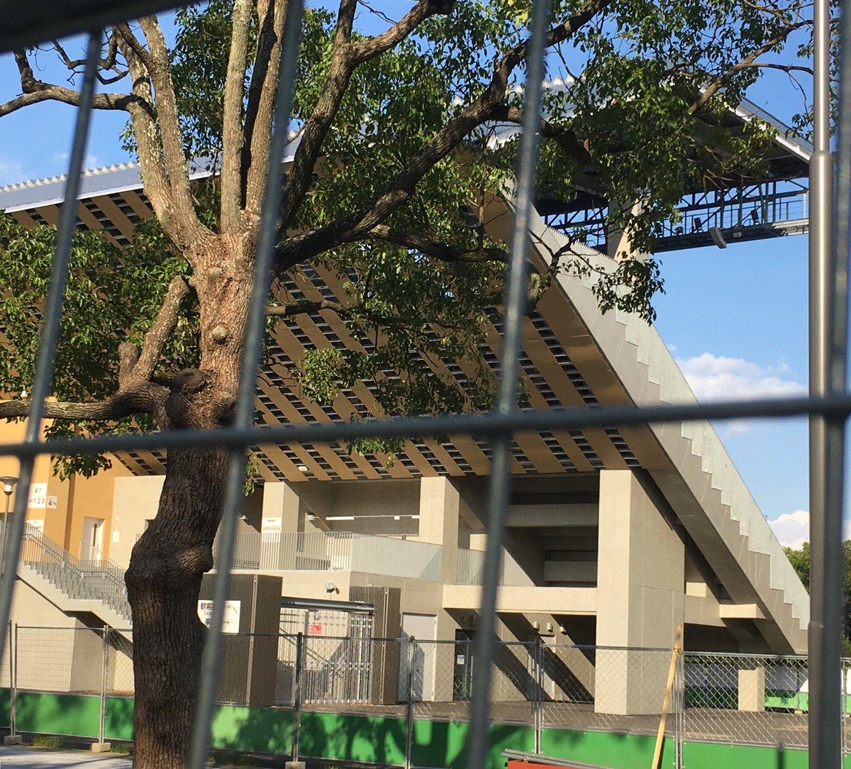 test ツイッターメディア - 完成間近のホッケー会場も木を多用。房総の台風被害もあり、来週は木に関する銘柄に注目してみます。 https://t.co/L5kWrZd3qR