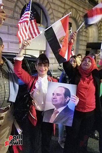 #اليوم_السابع   المصريون يحتشدون لاستقبال الرئيس #السيسى فى نيويوركhttps://is.gd/nzx0gY