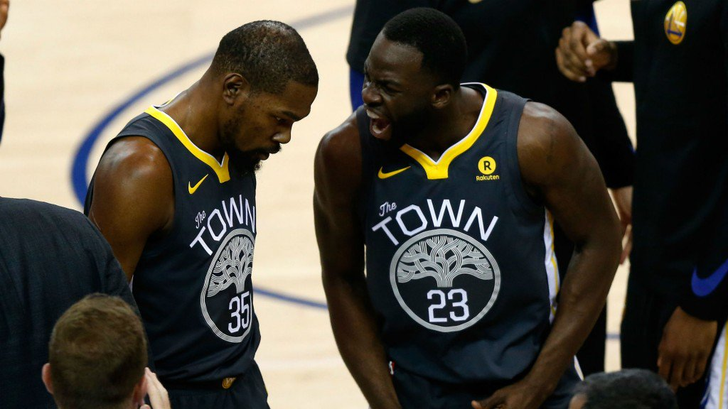 Jalen Rose: 'There Is Real Tension Between Kevin Durant And The Warriors' fadeawayworld.net/2019/09/20/jal…