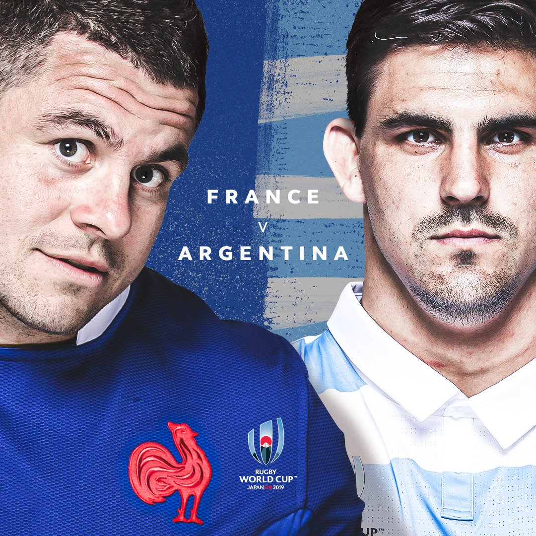 test Twitter Media - A crucial Pool C opener in #RWCTokyo, as @FranceRugby look to reverse a run of World Cup defeats against @lospumas   Find out where to watch: https://t.co/z0BgdPH0sf   #FRAvARG #RWC2019 #SuperSaturday https://t.co/swKi4IzILB