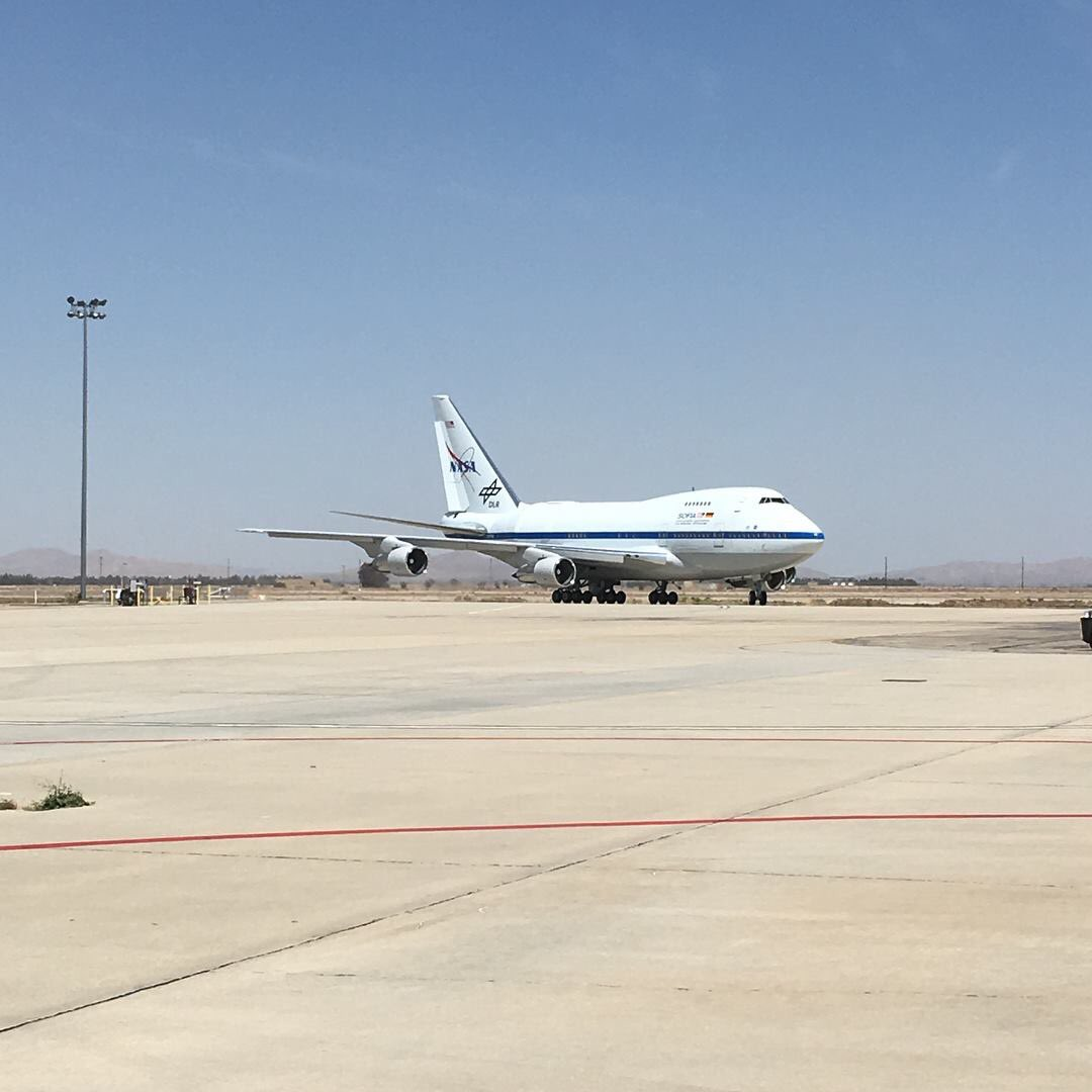 We're back home @NASAArmstrong and ready for more observations!