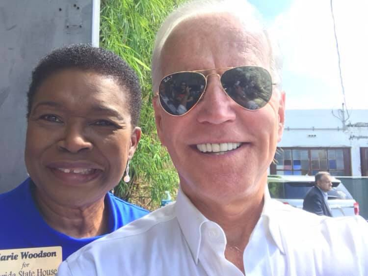A sunny Sunday afternoon with Vice-President @JoeBiden and some other elected officials in celebration of Hispanic Heritage month. V.P. discussed his plan to reclaim the American dream and unify the country. We also had a chance to thank him for his years of service.  #TeamJOE
