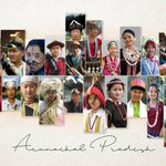Image for the Tweet beginning: The culture of Arunachal Pradesh,