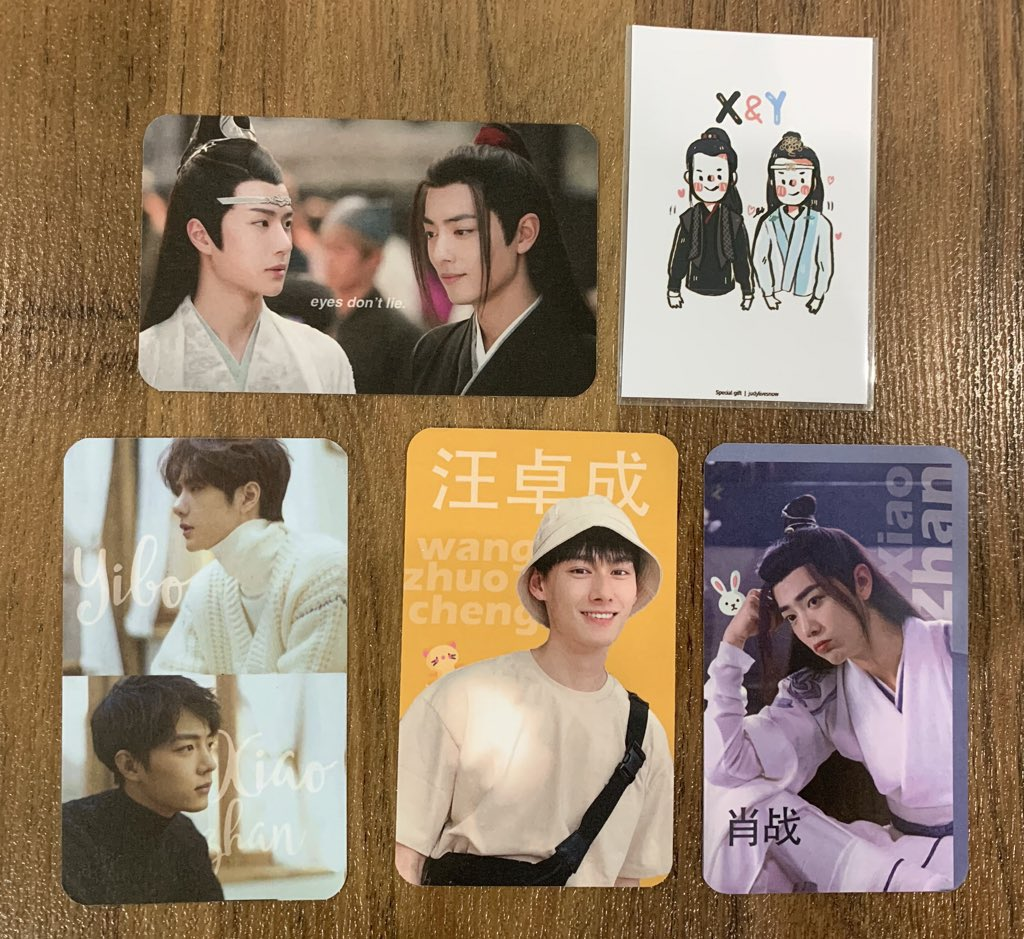 - Give away -  Photocard 250 ea. (1 card/person) #ปรมาจารย์ลัทธิมารTHfanmeeting    Place : impact exhibition hall 5-6  Time : 13.00 น. (ตอนนี้อยู่ในงาน press con)  just show me this tweet  1 card/person<br>http://pic.twitter.com/SDmEQlwdFg