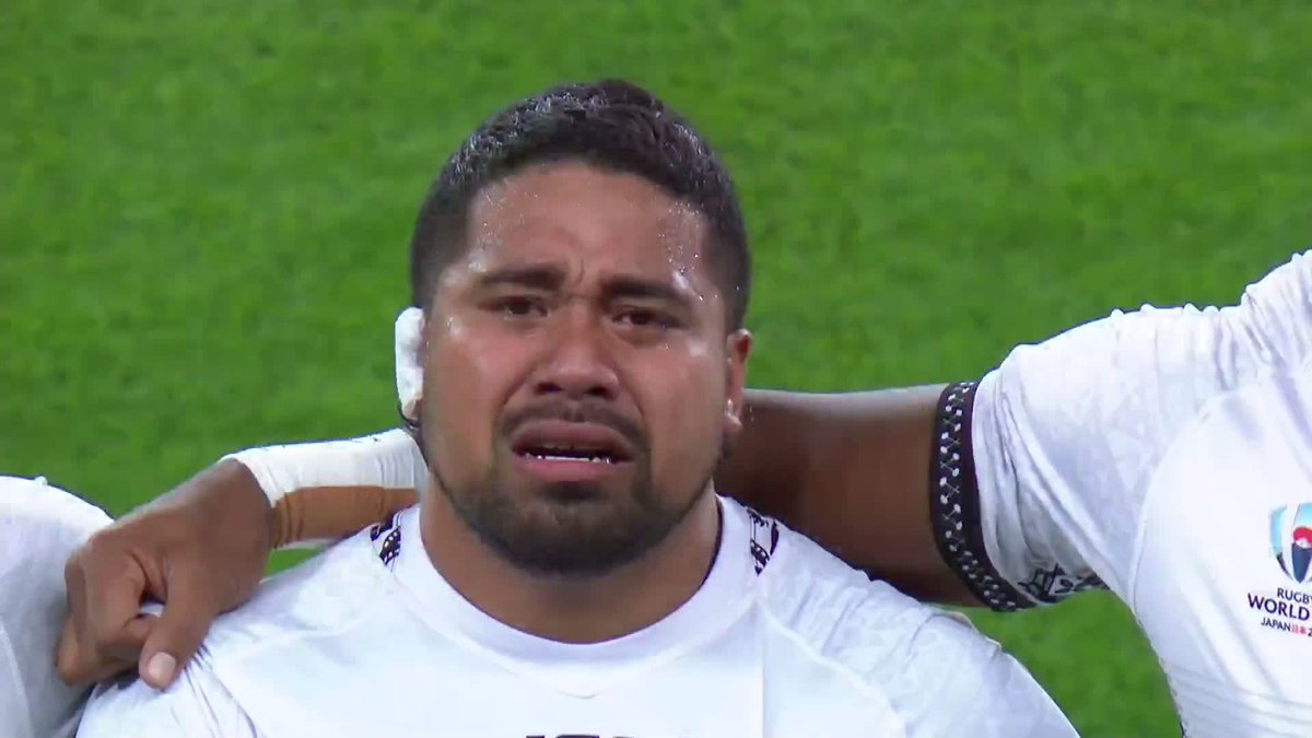 This is what it means to these players. #RWC2019 #AUSvFIJ