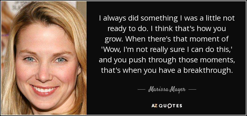 Marissa Mayer.- (CEO of Yahoo) Women Leaders #quote https://t.co/sUqZ5hUEBK https://t.co/woK6UIvrvU