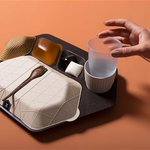 Image for the Tweet beginning: Are these edible meal trays