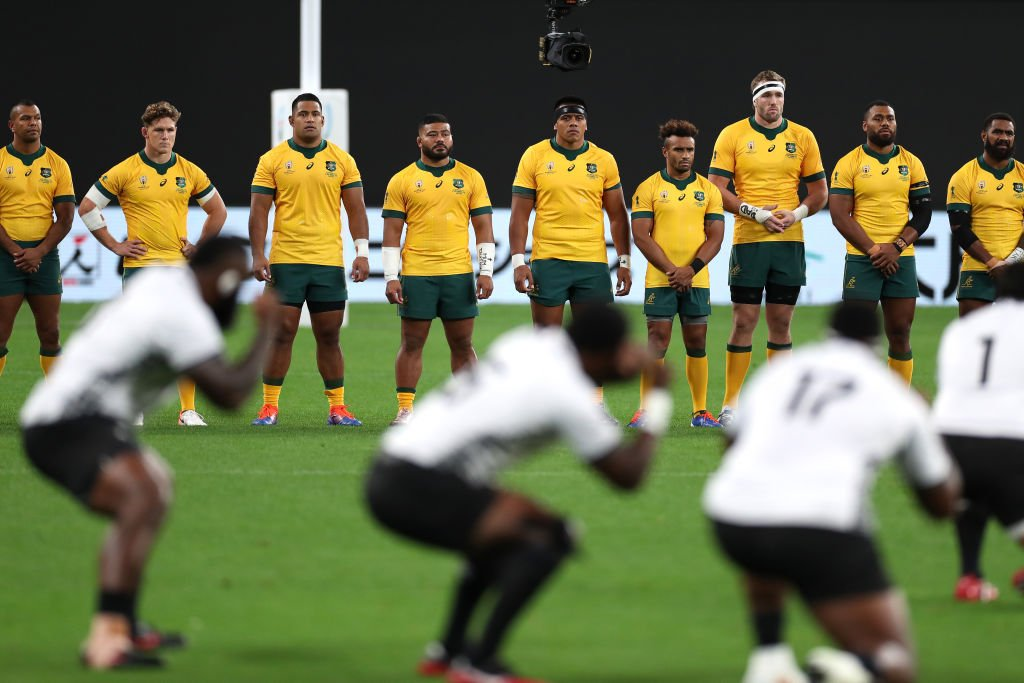 test Twitter Media - Staring down the Cibi. #AUSvFIJ #RWC2019 https://t.co/kAHKr7jO0H