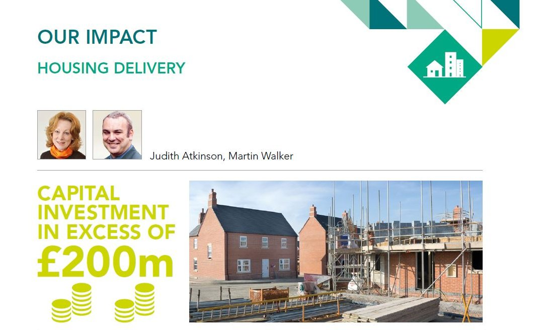 In 2018-19, we provided delivery-focused #Housing resources to support 44 councils (including five through @LGAcomms Housing Advisers programme), two combined authorities and the Welsh Government. Here's some examples:  #OurImpact #Housing  Thread 👇