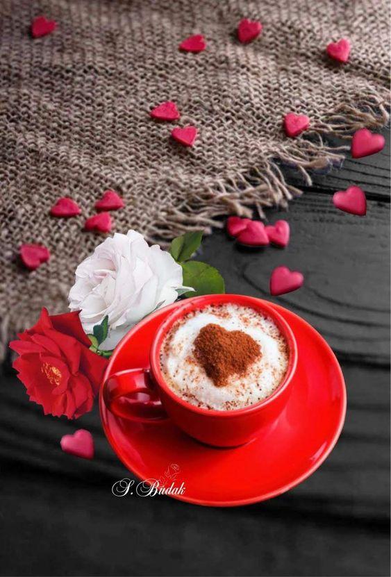 Открытки с добрым утром и сердечками