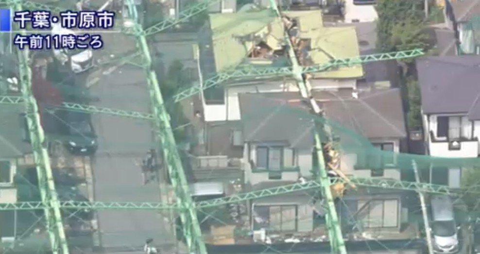 Golf Pole broke the house in Japan by Typhoon15th.  #千葉 #市原市 #台風15号  #Typhoon15  #typhoon #chiba #Japan #followme #followback #follow4follow