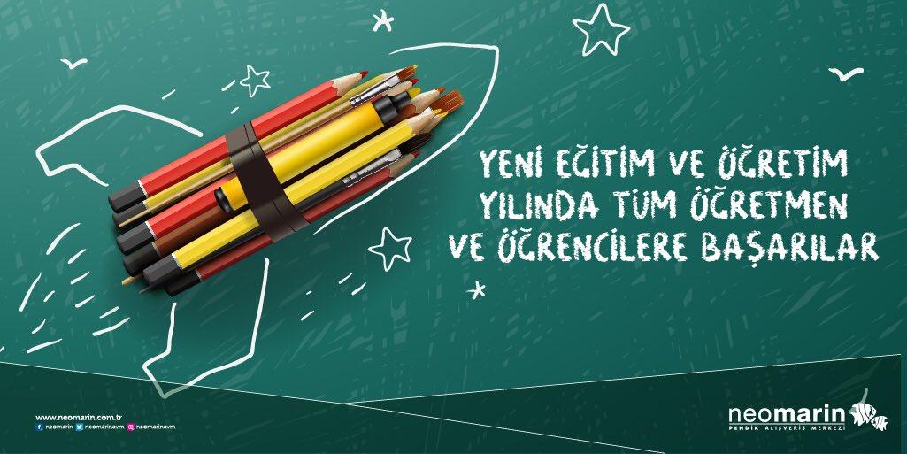 2019-2020 yılı eğitim ve öğretim yılında tüm öğretmen ve öğrencilere başarılar dileriz! 📚✨ #neomarinavm #neomarin...