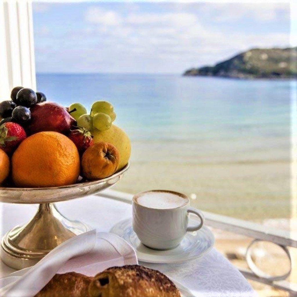 фото красивые с морем доброе утро