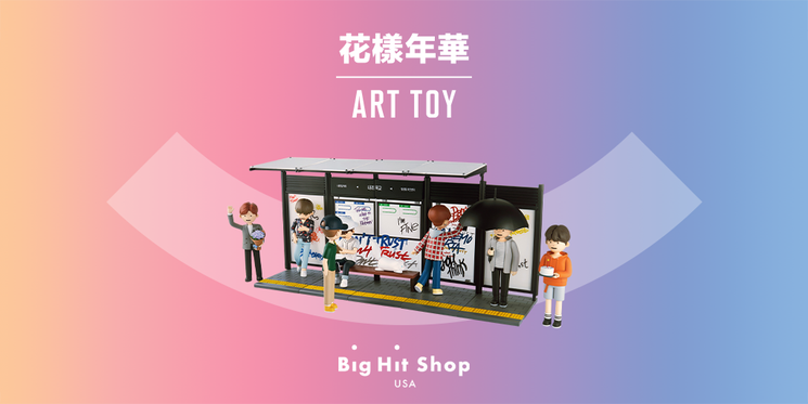Theres only one day left to pre-order 花樣年華 ART TOY! ✨ Dont forget the exclusive 3-Sticker Set for every pre-order on Big Hit Shop USA! 🎁 📅 Pre-order ends at 9 PM on Sept. 9 (PST). Order at #BigHitShopUSA for cheaper & faster shipping! 👉bit.ly/2ZmJtcc