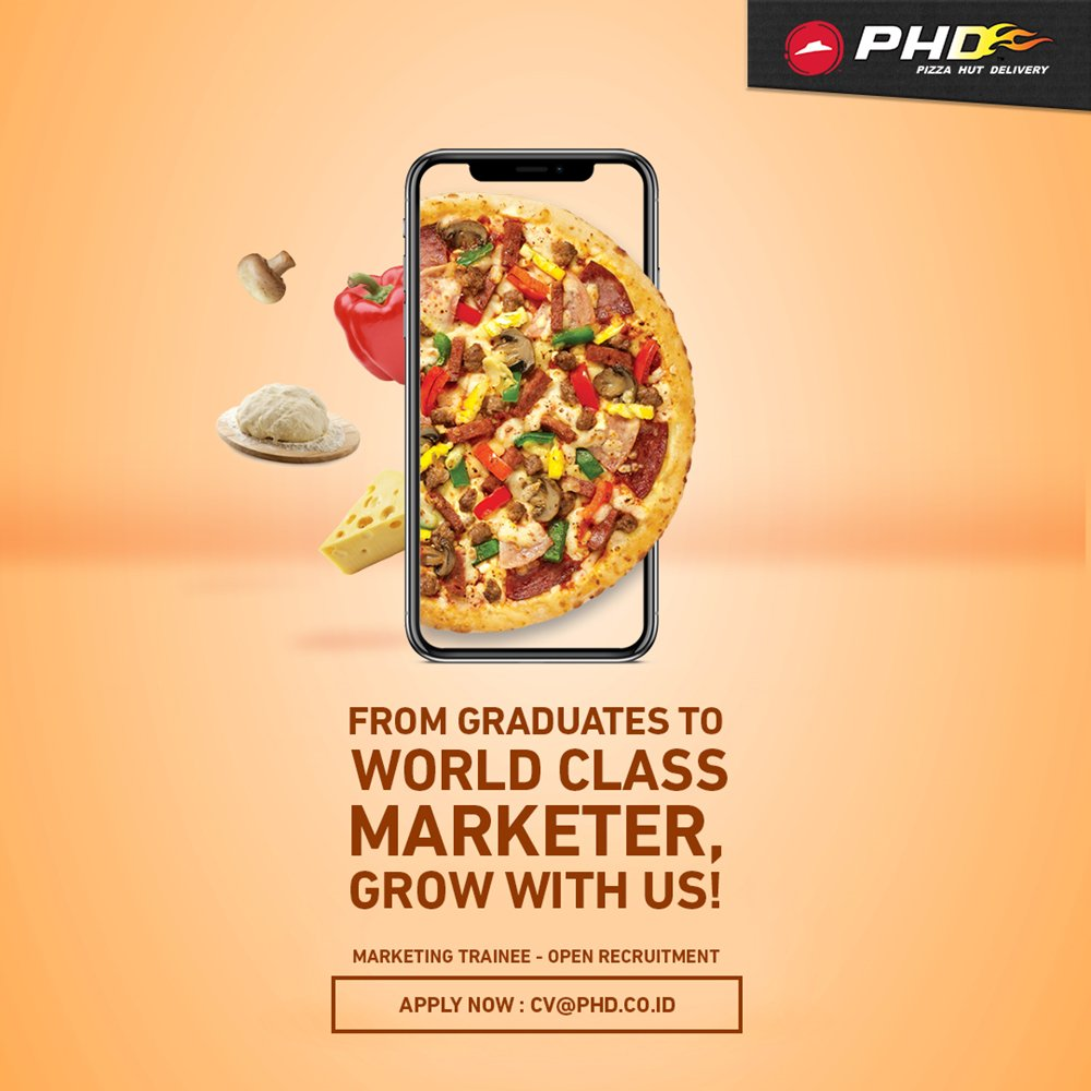 Itb Career Center On Twitter Be Part Of Pizza Hut