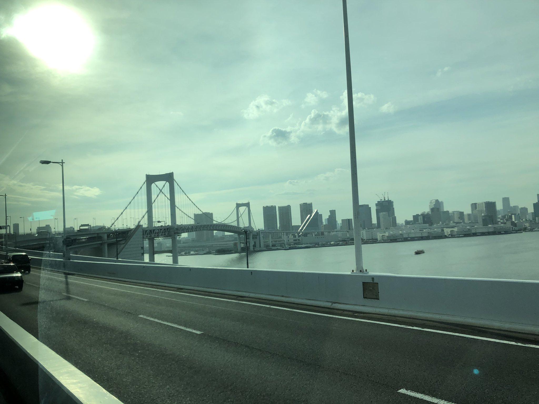 画像,羽田空港駐車場の工事足場が崩れてた😱😱#台風15号#爪跡#無事に東京には着きました#レインボーブリッジは大丈夫 https://t.co/Z1WUOZRki1…