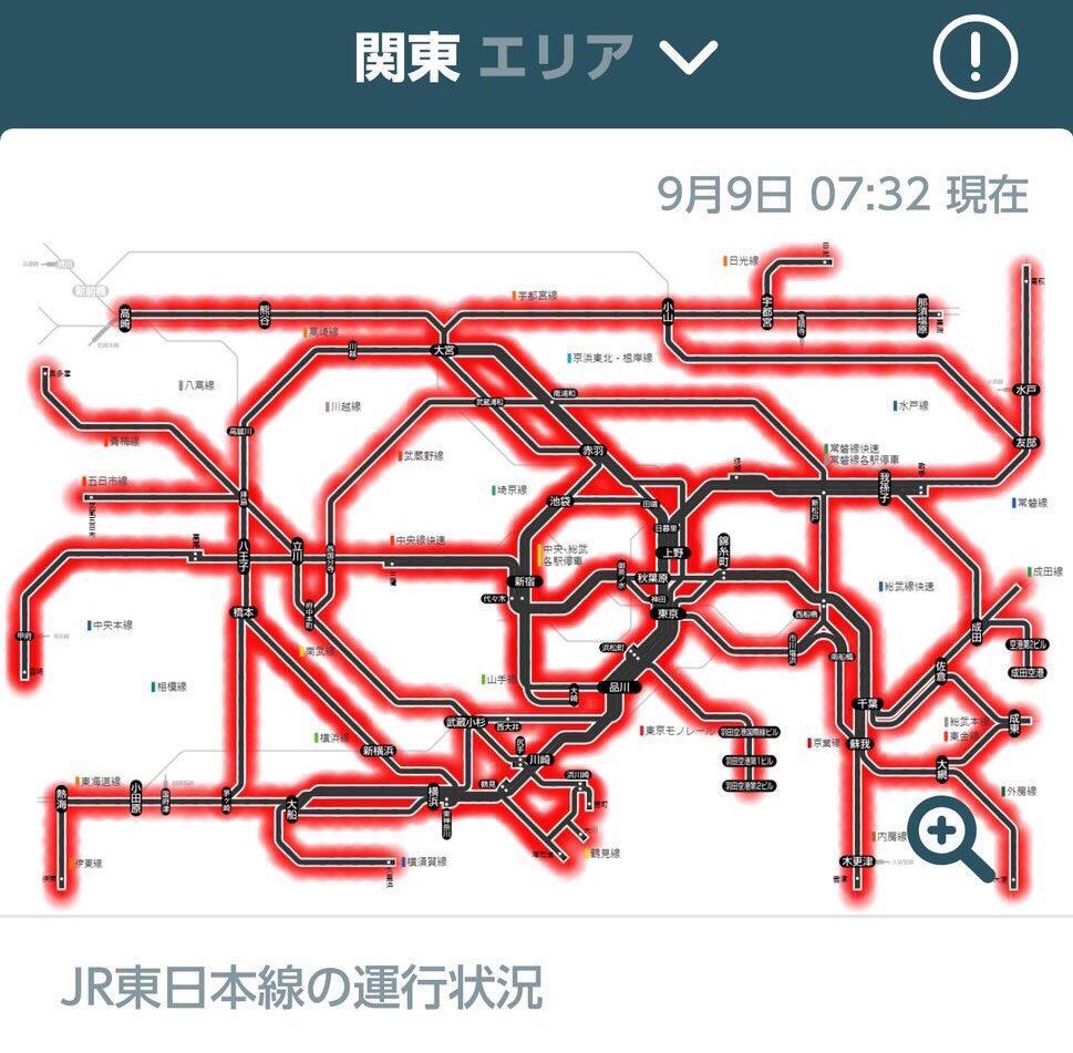 武蔵野 線 運行 状況
