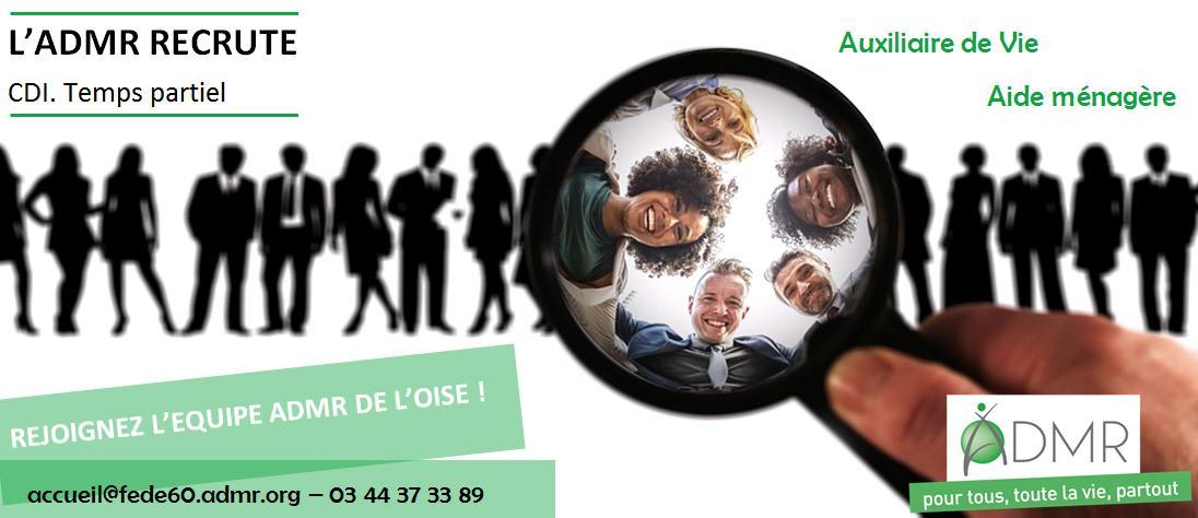 Admr De L Oise On Twitter Admr60 Recrute Des Profils