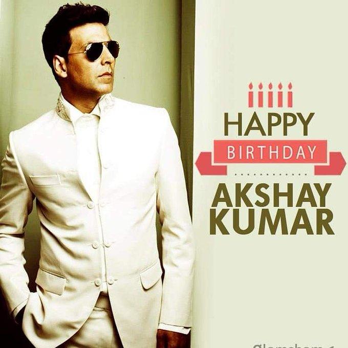 Happy birthday Most Stylish Actor Akshay Kumar sir