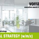 Image for the Tweet beginning: HEAD DIGITAL STRATEGY (w/m/x) |