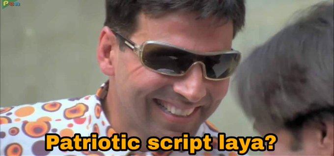 Akshay Kumar to those script writers who are wishing him  happy birthday