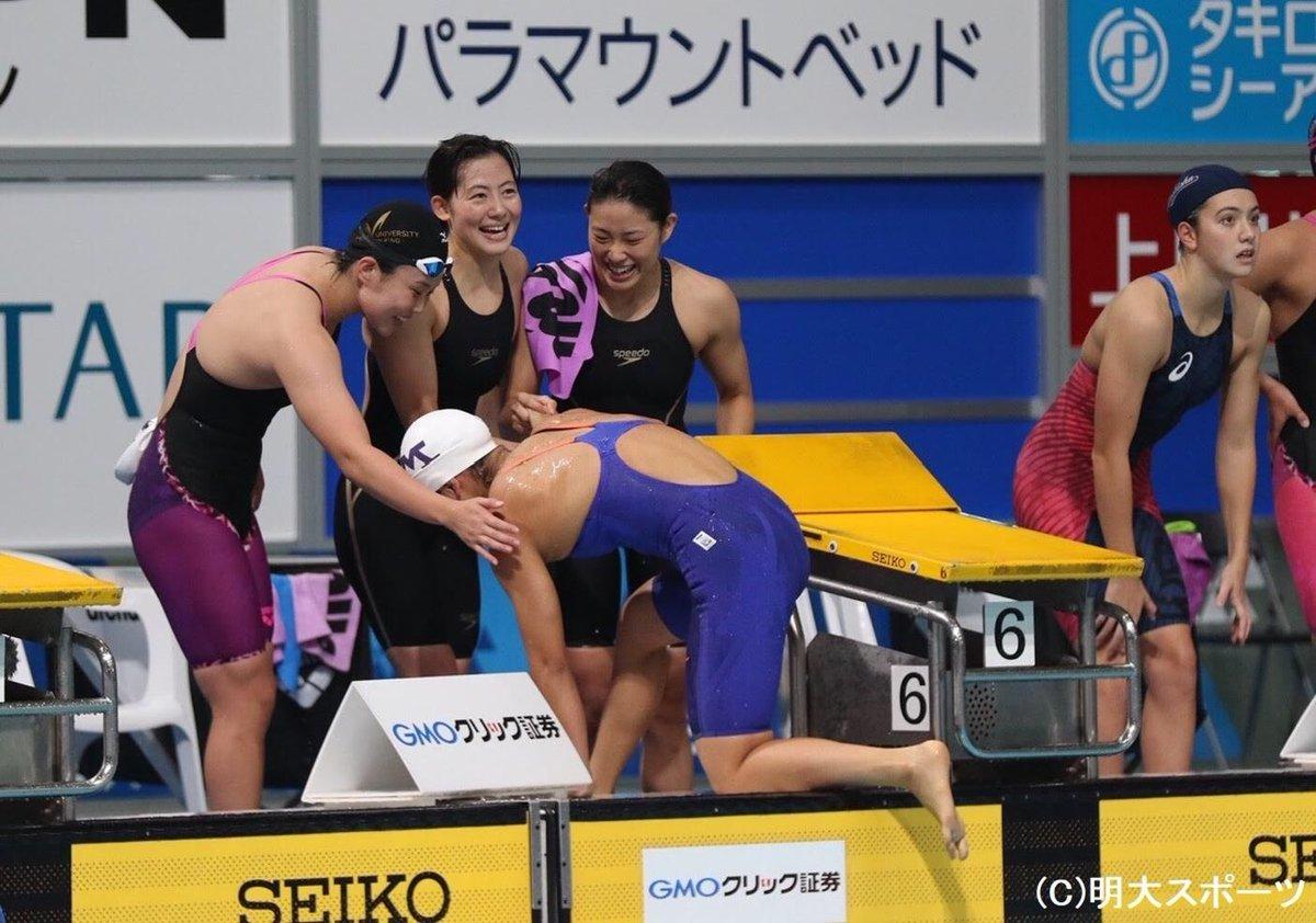 インカレ 水泳 2019