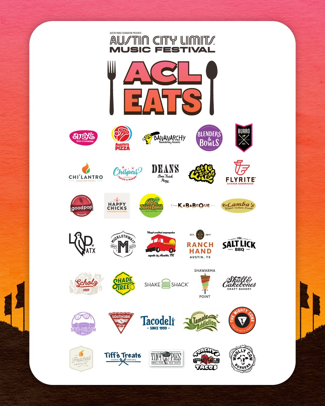 ACL Eats lineup