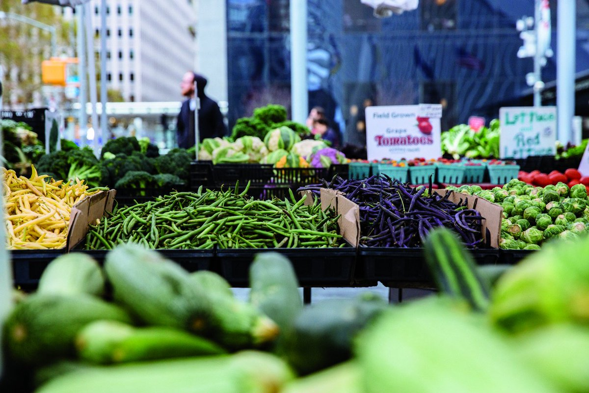 Check out the #wtcgreenmarket every Tuesday outside on the plaza. While you're there don't forget to pick up a punch card for a chance to win some exciting products!