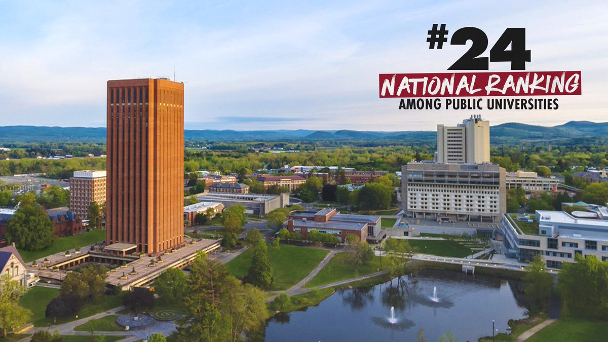 THE University of Massachusetts.   #24 National Ranking among the nation's top public universities in the Best College rankings by @usnews & World Report!     #Flagship  <br>http://pic.twitter.com/AtdZB8y4Wk