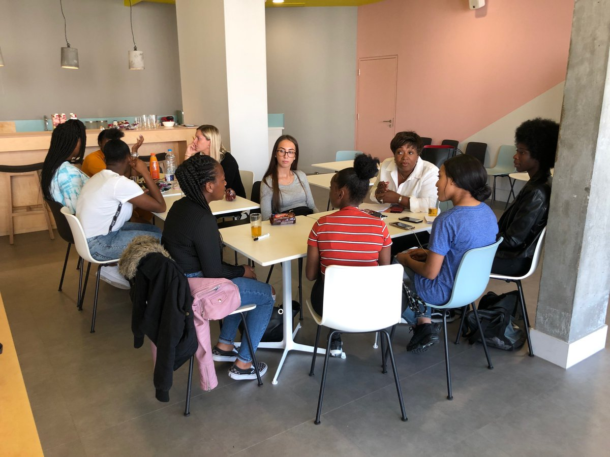 We're delighted to have started our work with #CSR partner @S_LawrenceTrust last week.   Here are some of our wonderful colleagues working with the Trust on their Communities Programme: developing young leaders and future entrepreneurs through social action projects!👏👏👏