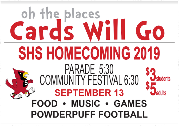 Homecoming is THIS weekend! Don't miss the parade and festival! #hoco2019