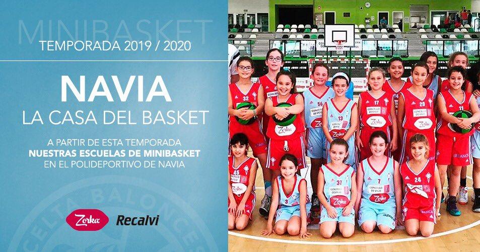 Volvemos a casa. A partir de esta temporada las escuelas minibasket de La Academia entrenarán siempre en en Polideportivo de Navia. Martes, jueves y viernes. Os esperamos!