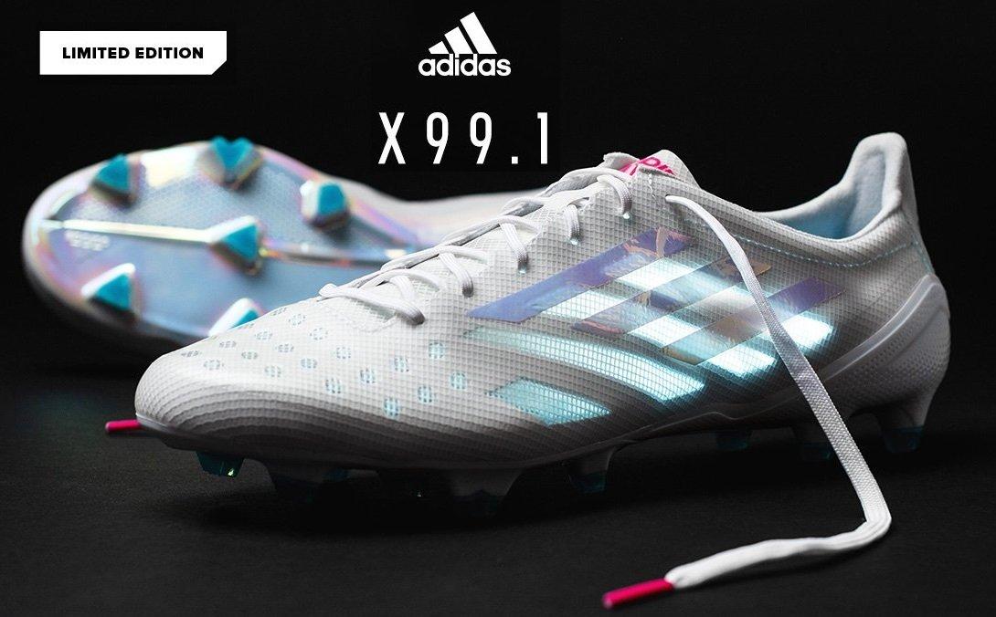 adidas サッカースパイク 『エックス 99.1 FG』Xシリーズ史上最軽量限定モデル日本国内では9月10日11時からサッカーショップKAMOで発売!