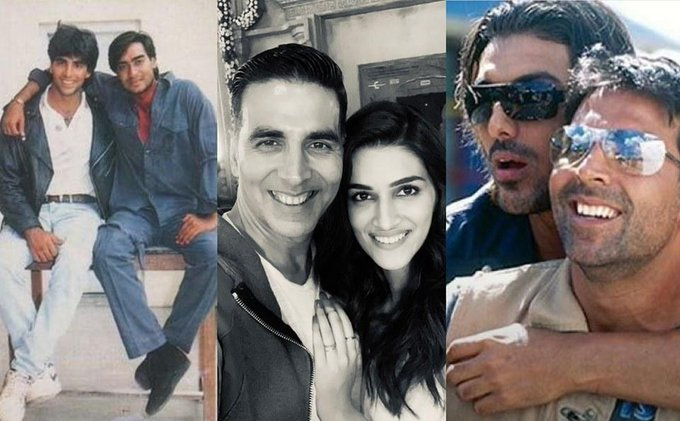 Bollywood stars wish the Khiladi on his 52nd birthday!  Read on: