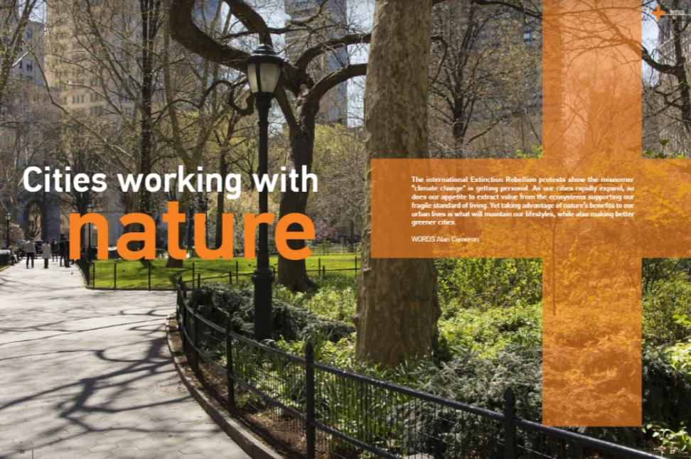 """People want to live in a safe environment, enjoy a good quality of life & make a #sustainable living. - @ernitaICLEI   More from @Alive2Green in """"#Cities working with #nature"""" feat. @ICLEIAfrica, @WUParks, @eThekwiniM, @CityTshwane, @CityofJoburgZA & more: https://t.co/J6Ymr3oOU8"""