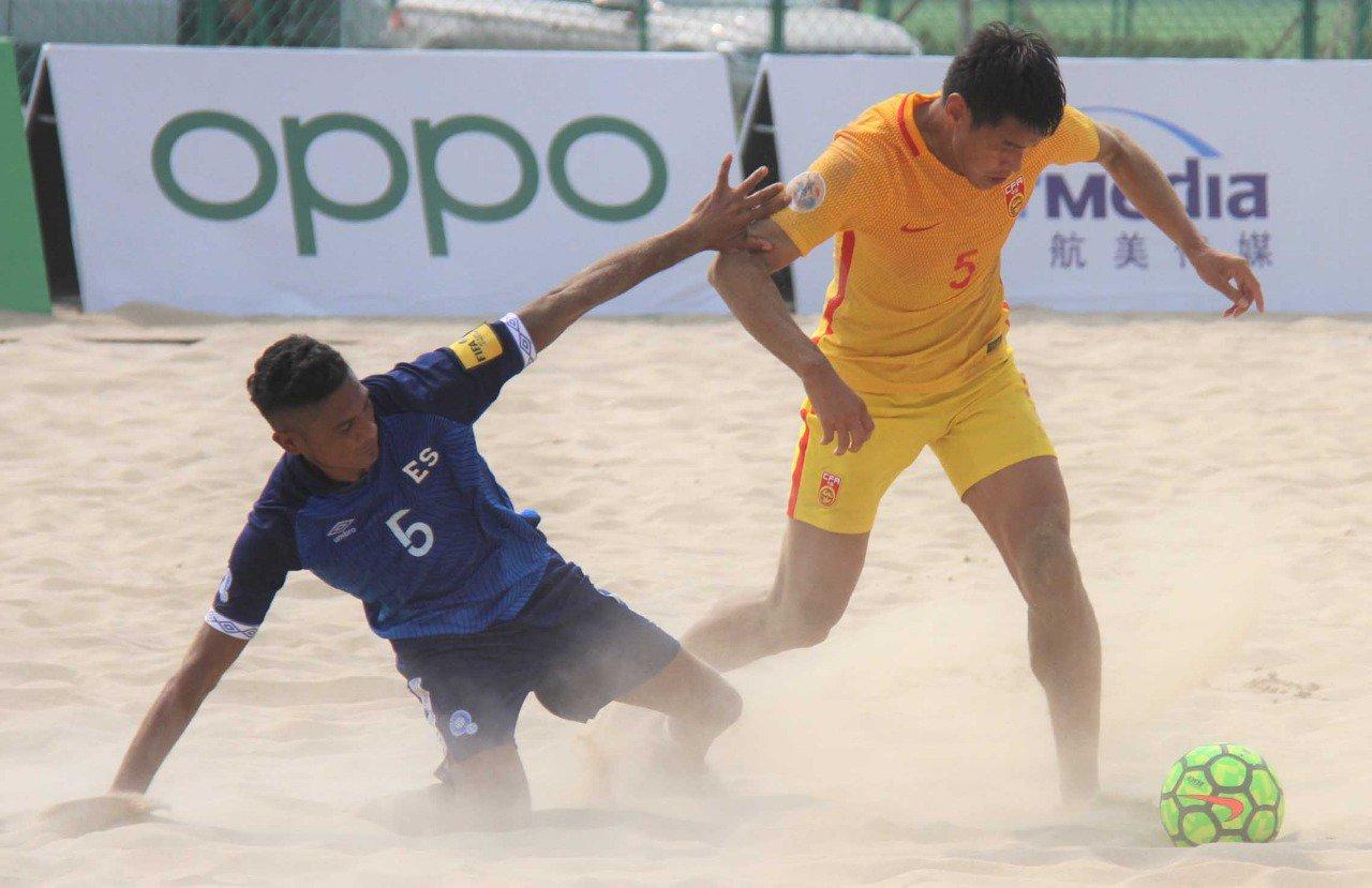 2019 Goalfun CFA China - Latino America Futbol Playa campeonato. EEBbW8aXYAYIEaY?format=jpg&name=large