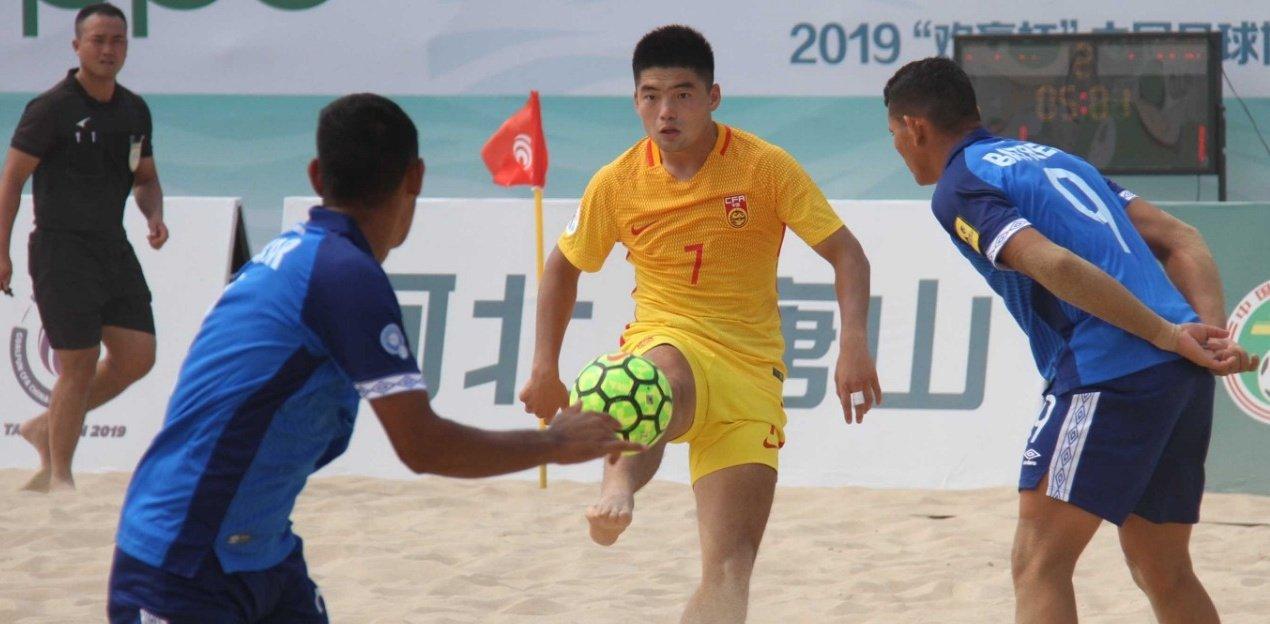 2019 Goalfun CFA China - Latino America Futbol Playa campeonato. EEBbYmeXsAAWltr?format=jpg&name=large
