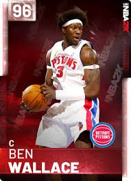 "September 10:Happy 45th birthday to retired professional basketball player,Ben Wallace (""Detroit Pistons\"")"