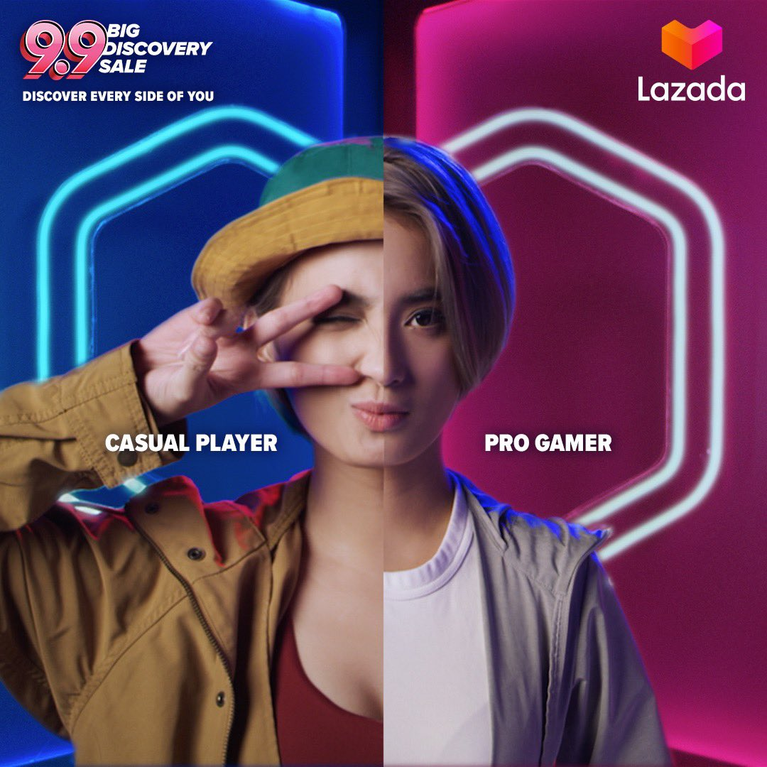 Discover every side of you at today's Lazada 9.9 Big Discovery Sale! Shop now by clicking this  link  https:// lzd.co/Lazada99xAeriel       :)#Lazada99 #DiscoverWithLazada #LazadaPH99<br>http://pic.twitter.com/wGg6ecbBHh