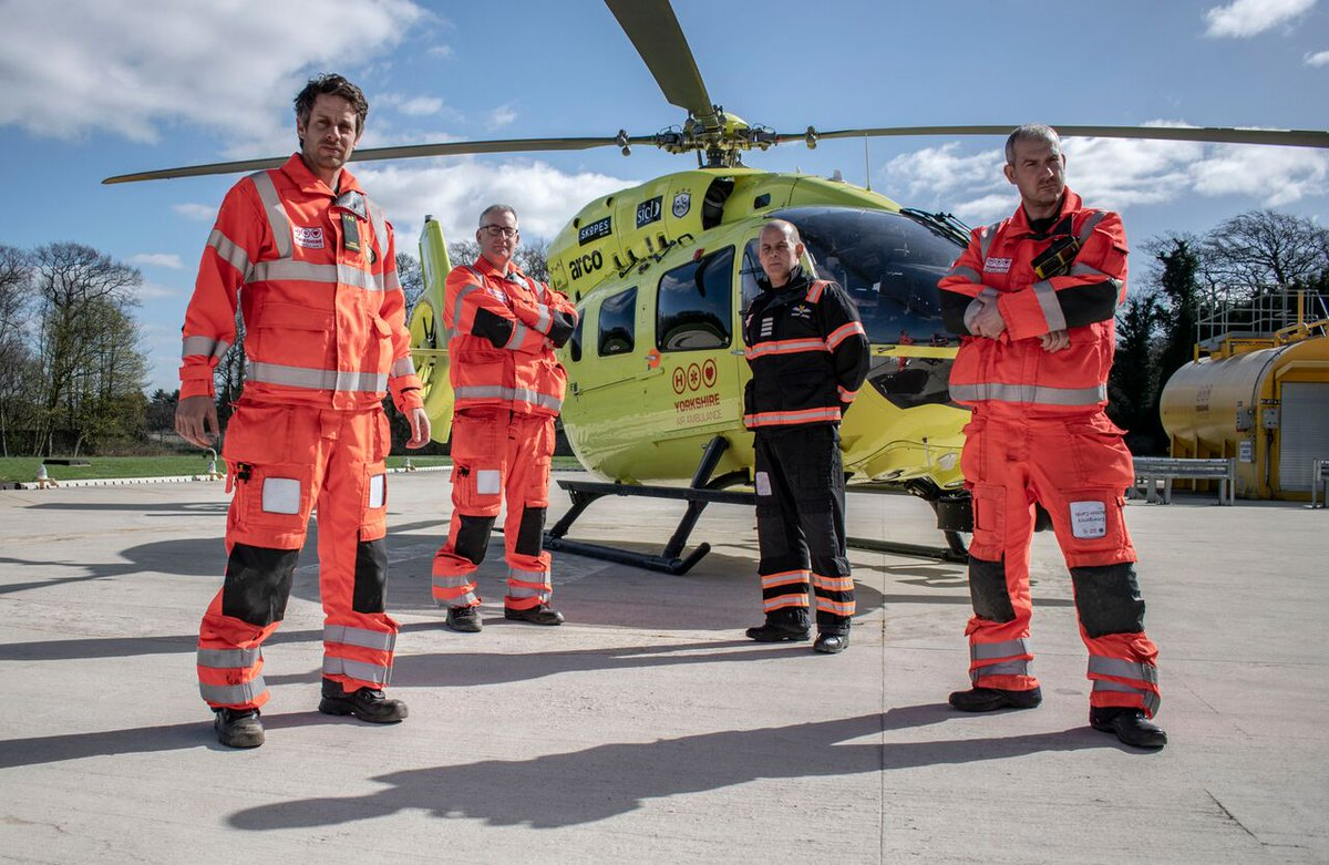 It's that time of week again - Helicopter ER is on Really Channel tonight at 9PM!This week's episode features: two work mates trapped after a head on collision, a horse rider thrown off her horse onto an icy road and an off road biker with serious leg injuries 🚁