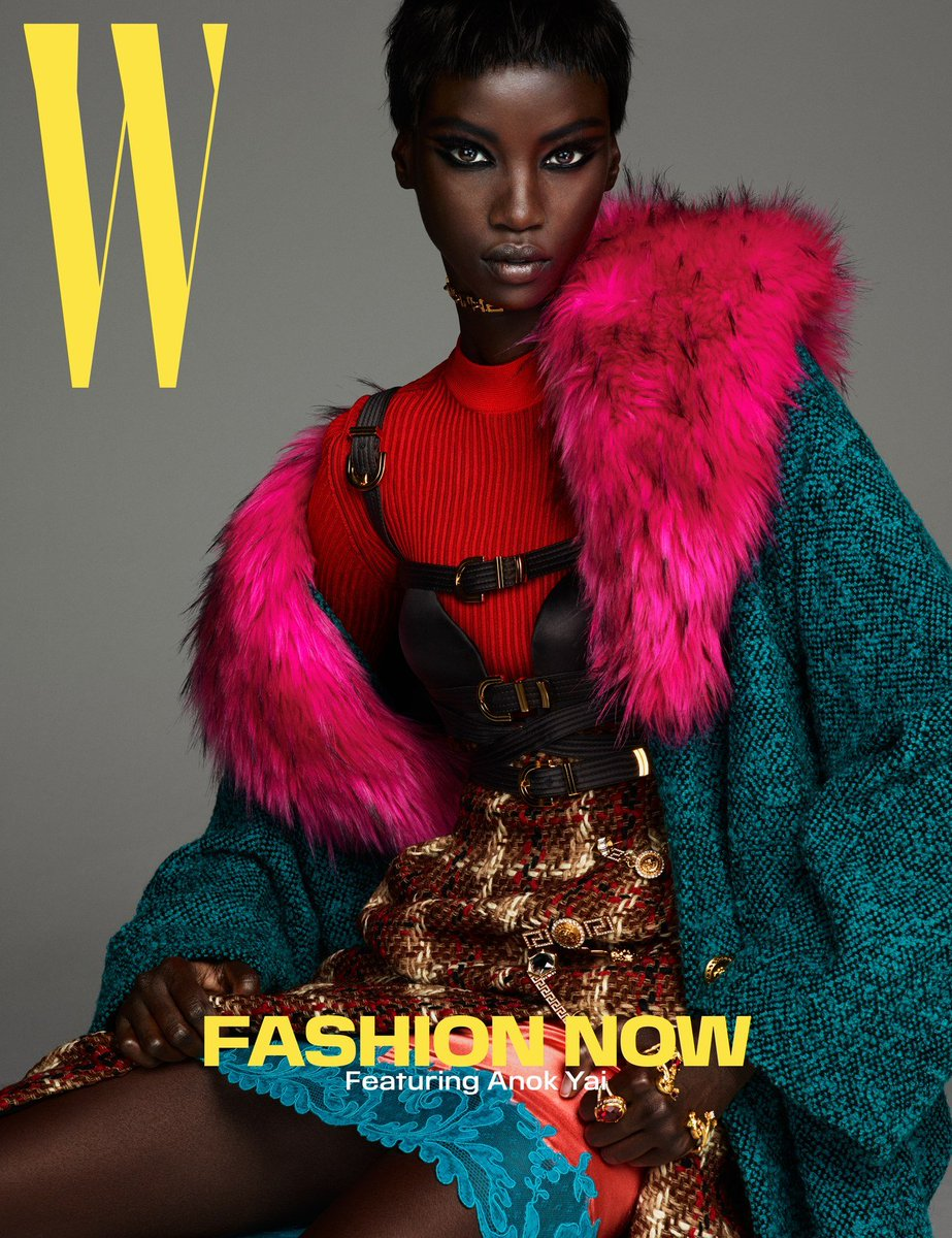 The Egyptian-born, American-raised daughter of Sudanese refugees, model @anok_yai has been on the runways for just a couple of years, but she is already using her popularity to advocate for greater diversity in the fashion and beauty industries:  http:// wmag.cm/VSZ74MH    <br>http://pic.twitter.com/TkAyLtKV7b
