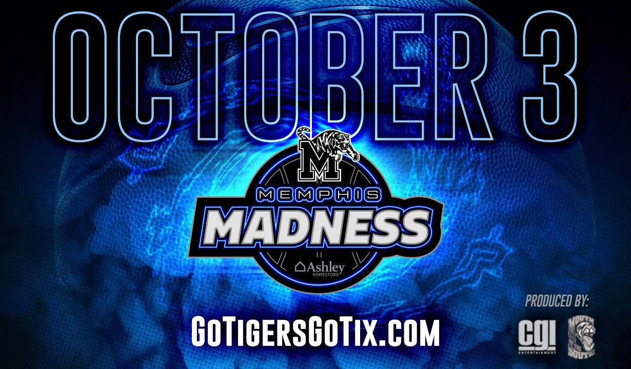 Memphis Tigers NCAA Basketball: All Plaza and Club level seats for Memphis Madness have sold out. There are still $5 Te...