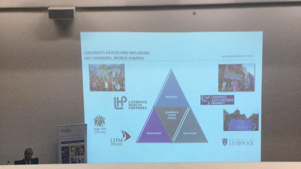 Liverpool Health Partners #StartingWell #LJMU2019IHR<br>http://pic.twitter.com/RzwxmrQhJL