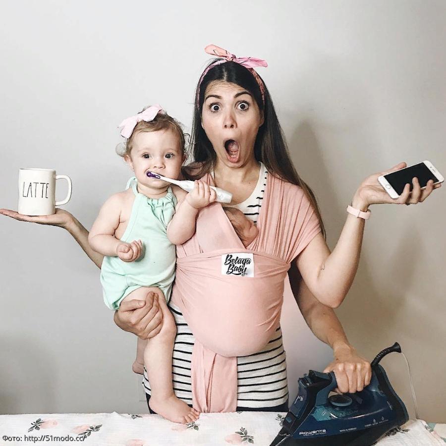 Днем, прикольные картинки мамы с ребенком