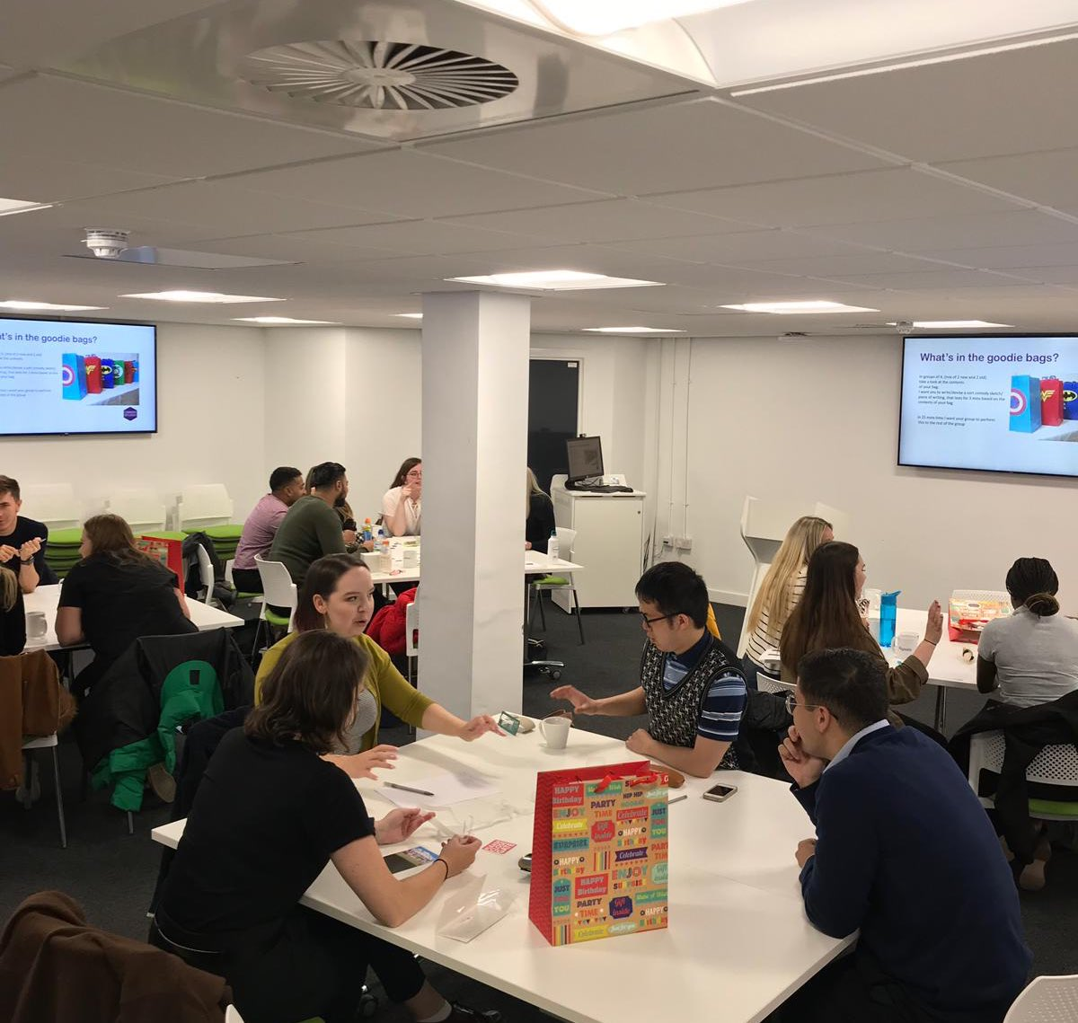 Excited to welcome our new @livuni #CareerCoaches to the team for their first day of training today!