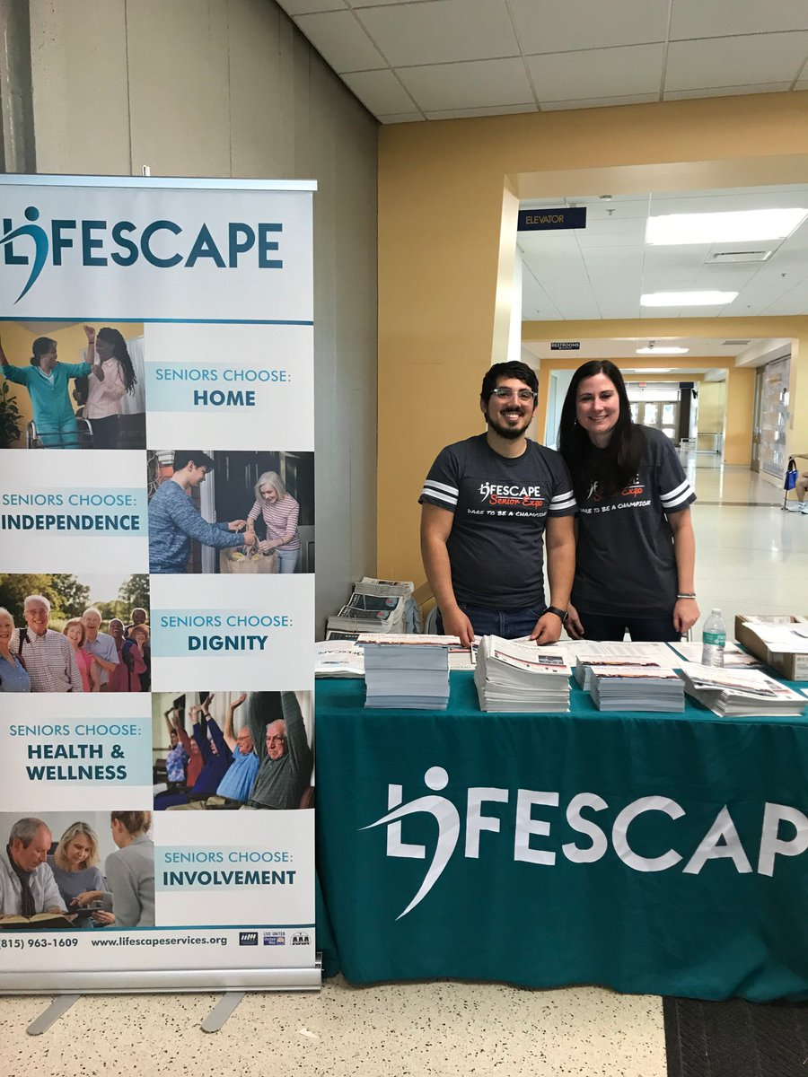 Illinois Department On Aging On Twitter Saturday S Lifescape Senior Expo In Rockford Was A Ton Of Fun Thanks To Lifescape Executive Director For Inviting Doa Director Paula Basta To Visit This Amazing